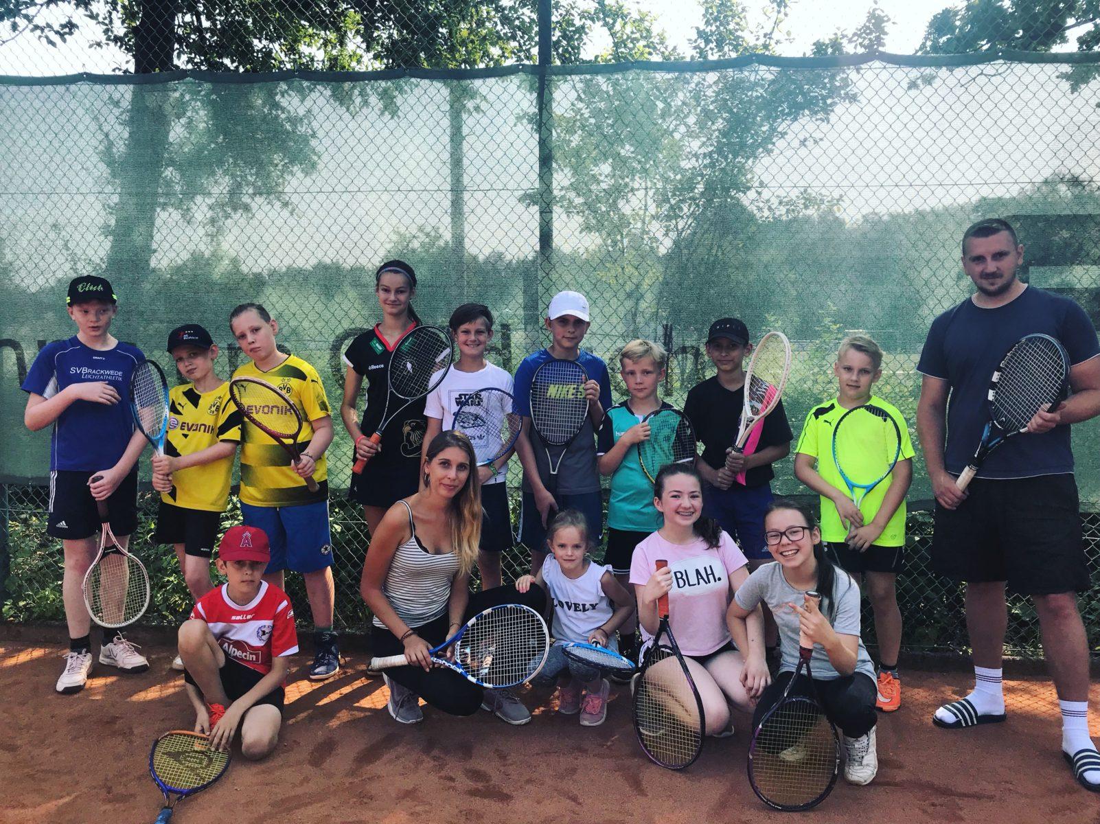 Tennis-Ferienkamp 2018  Bild 1