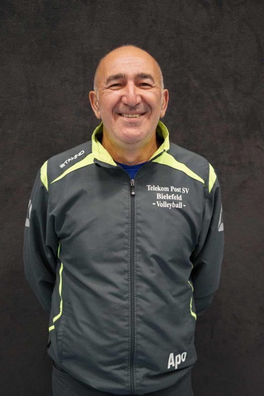 Coach Apostolos Kiourtidis