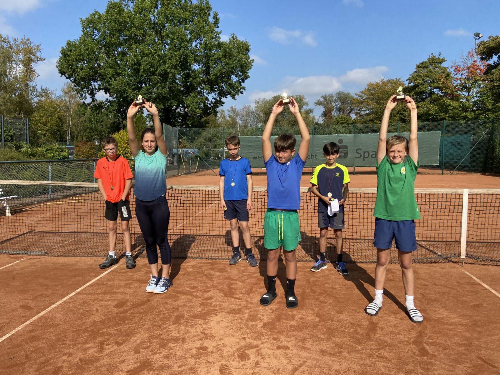 Lorenz, Ivelina, Jonathan, Yade Jimi und Fritz (von links nach rechts)