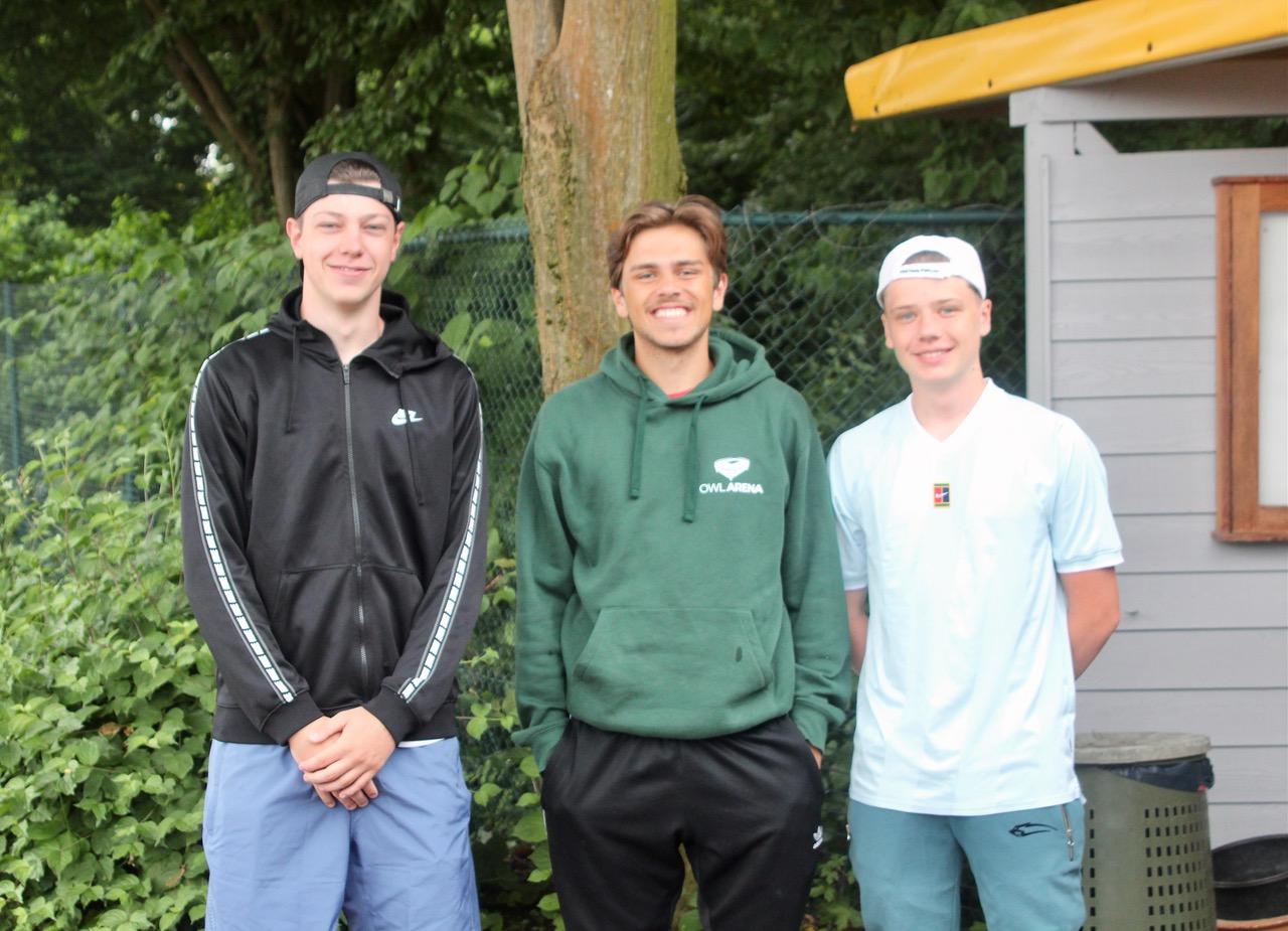 Trainer Cedric, Tobias und Tom
